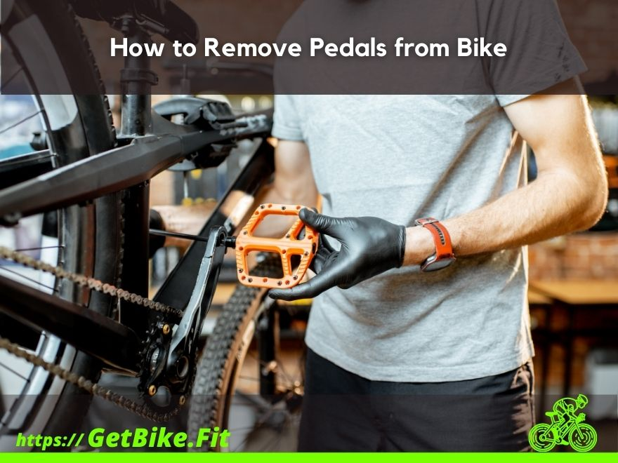 How to Remove Pedals from Bike